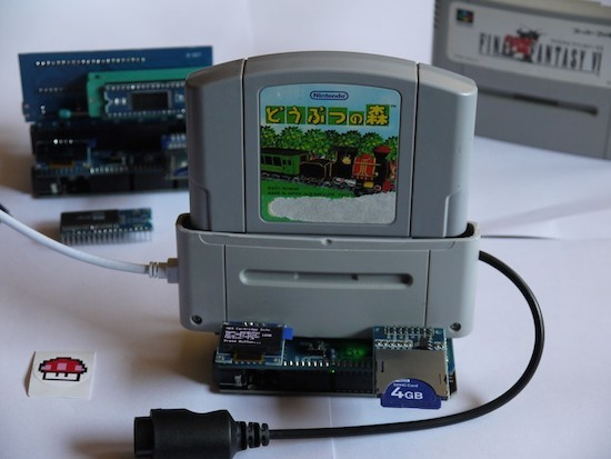 An Arduino-based cartridge reader for Nintendo systems