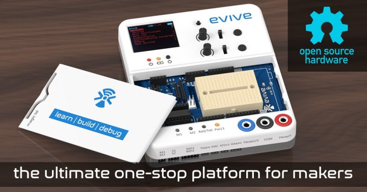 Arduino evive: the best electronic prototyping platform on Indiegogo now