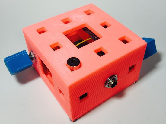 Experimental sound generating boxes for Makers, by Makers