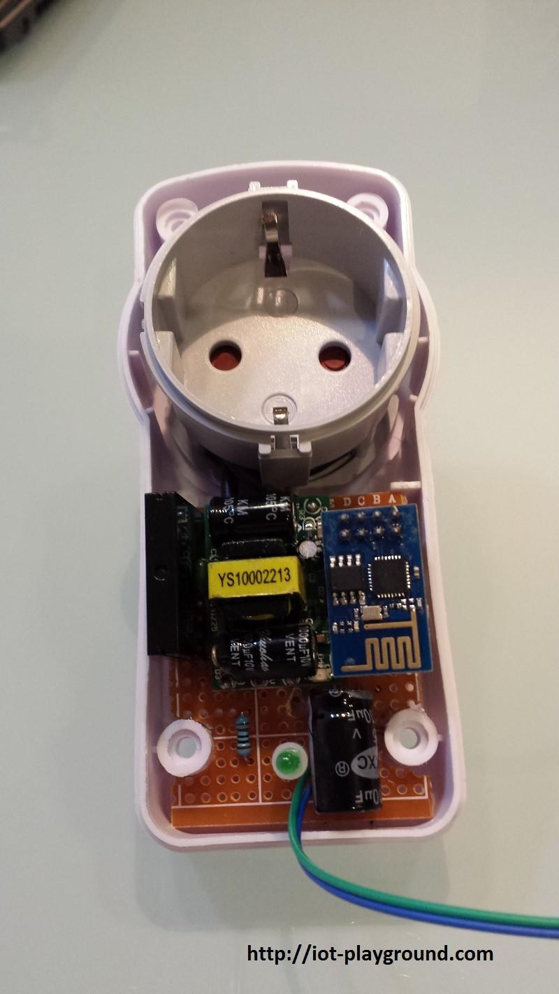ESP8266 Internet Connected Switch (EasyIoT Cloud MQTT API V1)