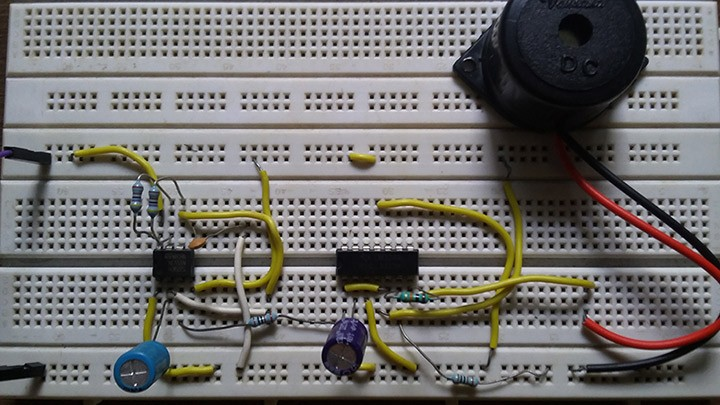 Making a real Siren circuit using timer and Opamp