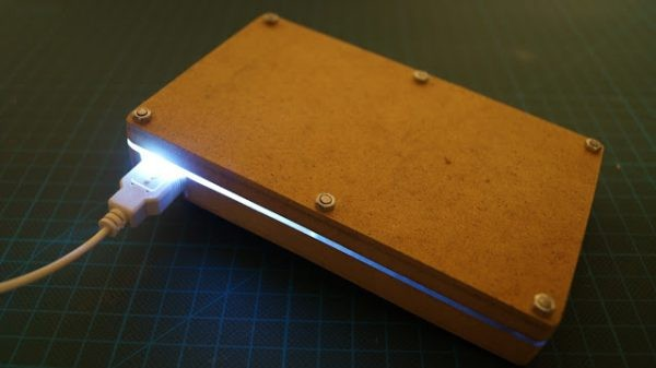 DIY USB power bank from laptop battery