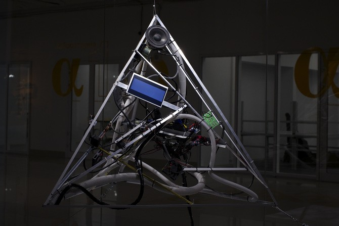 Interactive instrument turns brainwaves into art