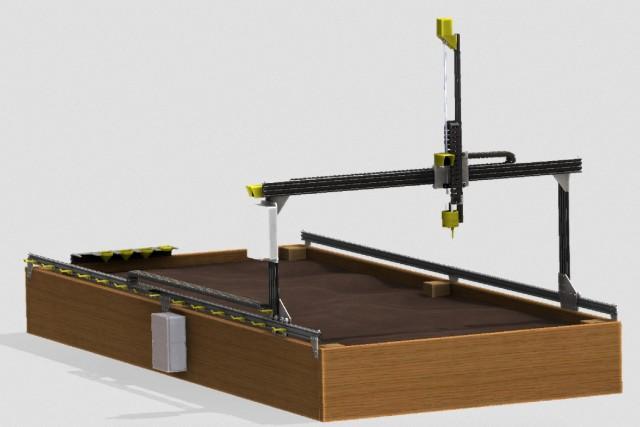 Open-Source CNC Farming Machine Reimagines Food Production