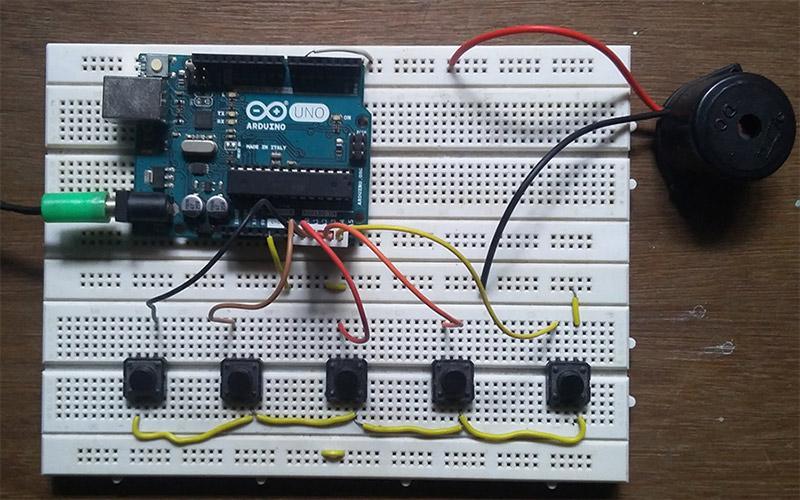 Fun DIY project – piano using Arduino