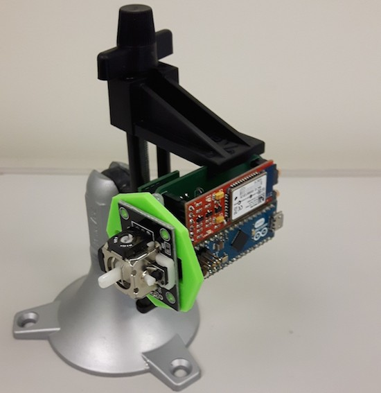 LipSync is an Arduino-based assistive device for smartphone use