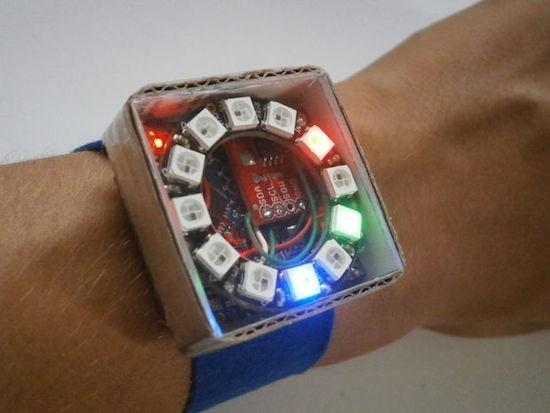 PIXIE is an Arduino-based NeoPixel watch