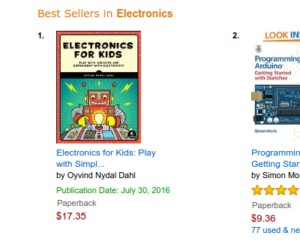 Electronics For Kids is in print