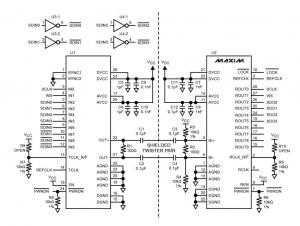Transmitting I²S Audio Streams in Automotive Applications