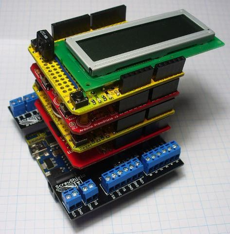 Skill Sunday: Stacking Arduino Shields