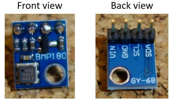 Guide for BMP180 barometric sensor with Arduino
