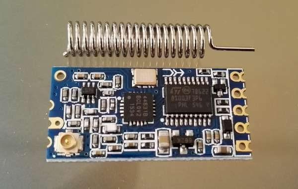 HC-12 433MHz wireless serial communication module configuration