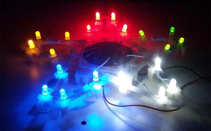 How to build a DIY Penta colored star LED light