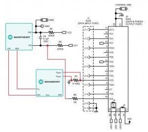 40W Single Port MAX5971A Current Sensing