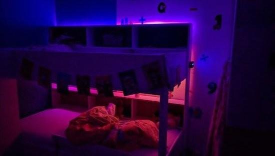A wakeup light for kids