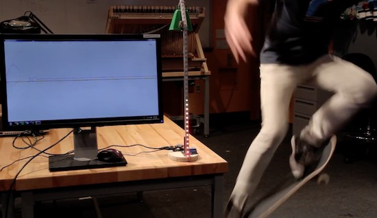 This Arduino machine will judge how sick your ollies are