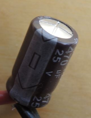 Bad electrolytic capacitor teardown