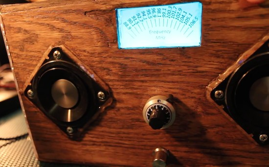 Build an FM radio with an Arduino and other spare parts
