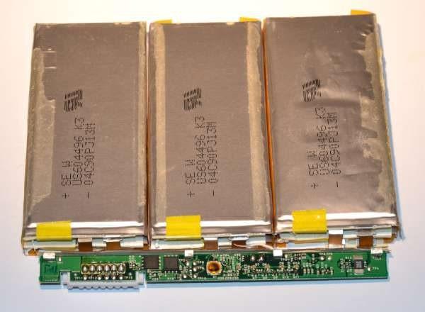 LiPo batteries hacking and refurbishing