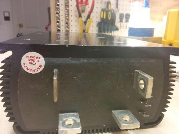 Curtis 1231C-8601 500A PWM DC motor controller teardown