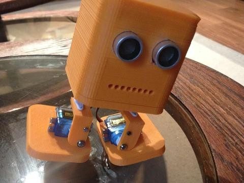 3D Printed LeoStick Powered Robot