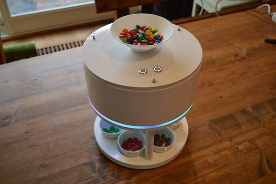 Sort your M&Ms or Skittles with this ingenious machine