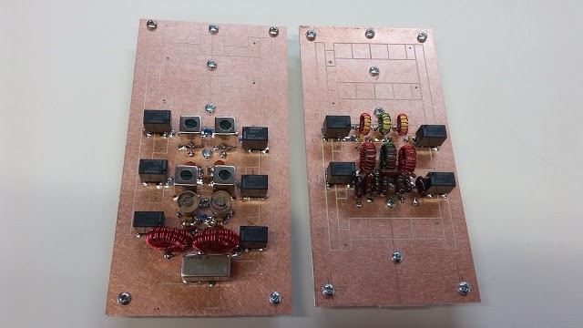 FPM5 Band Pass and Low Pass Filter Boards