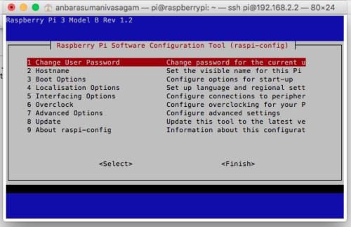 Raspberry Pi Configurations