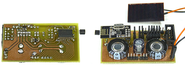 Wireless Temperature Sensor (nrf24L01 & DS18B20)