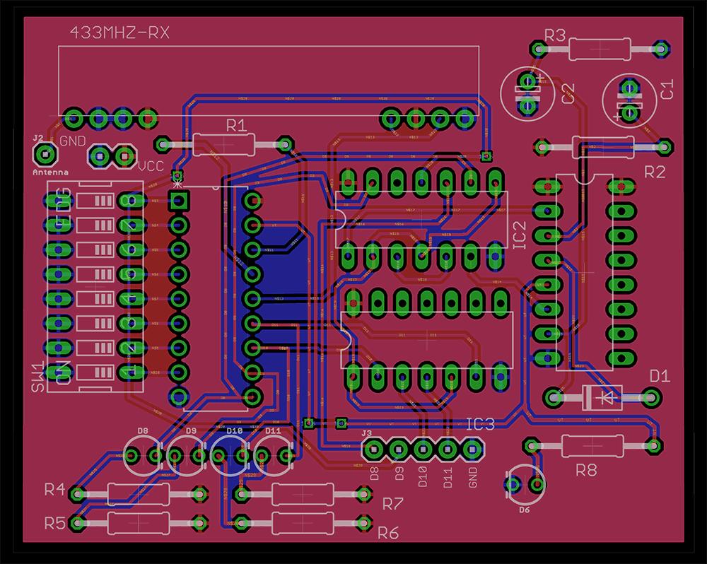 RF-remote-control-rx-ht12d-pcb-design