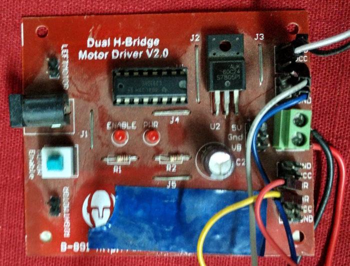 DUAL H-Bridge Motor Driver L293D