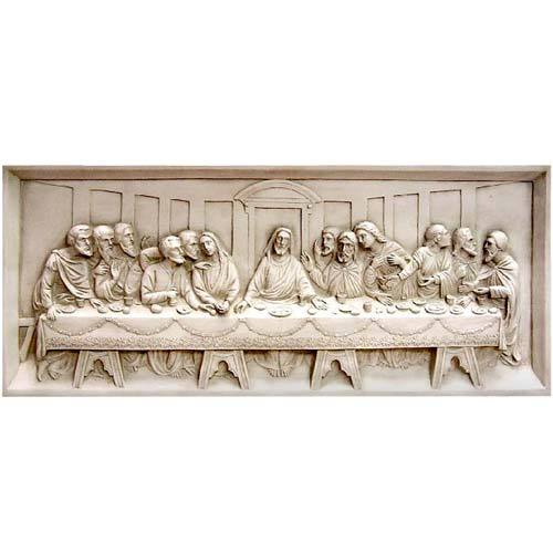 Last Supper Wall Relief 25