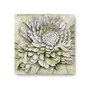 Chrysanthemum Plaque
