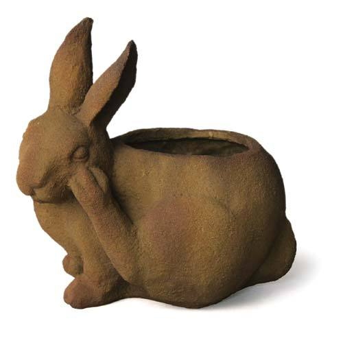 Bunny Pot Scratching