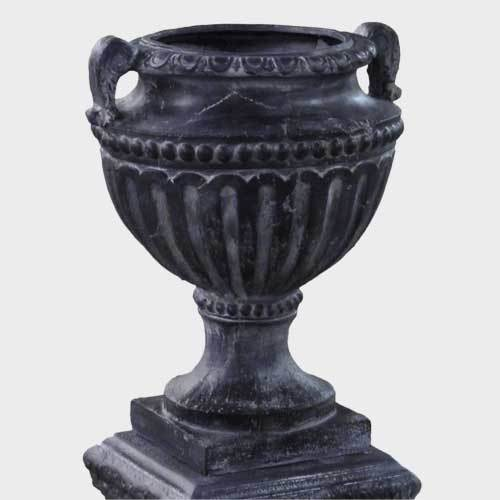 """Fluted And Beaded Urn 18""""h"""