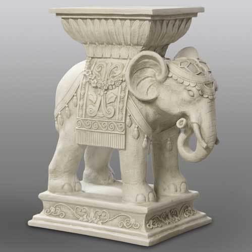 Elephant Indian Pedestal 18