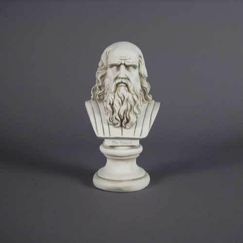 Da Vinci Bust-Lg 12