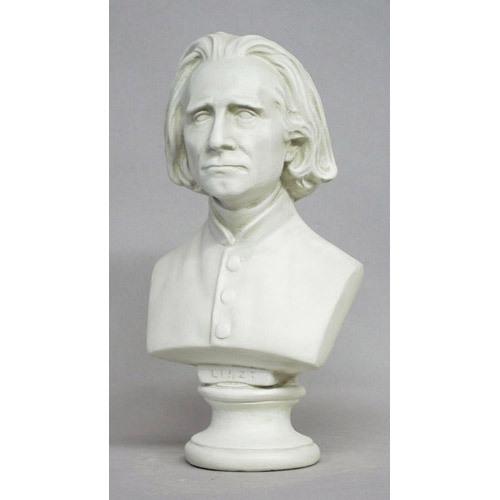 Liszt Bust Small 11