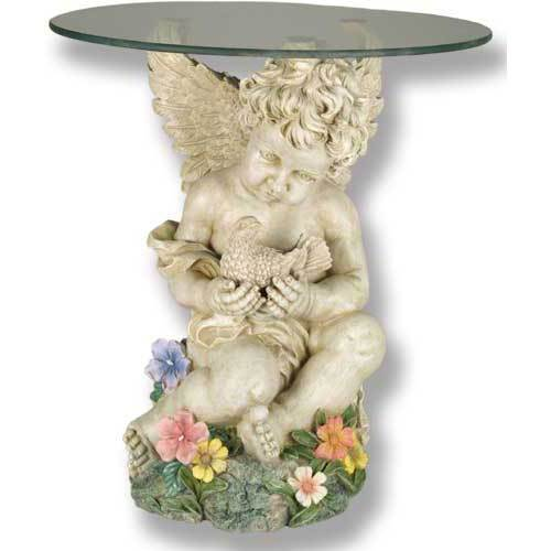 Cherub with Dove Coffee Table