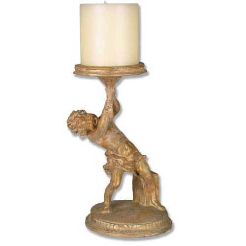 Captive Angel Candleholder