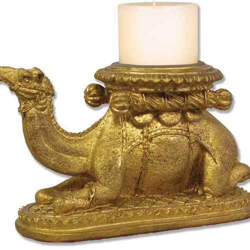 Camel Candleholder - Gold