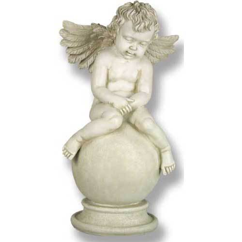 """Sleepy Angel with Wings 19""""H"""