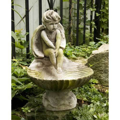 Meditating Birdbath 17