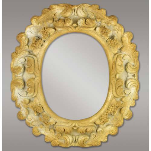 Carved Thick Mirror 41x37