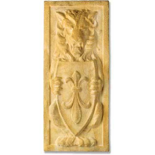 Lion Crest Plaque 38