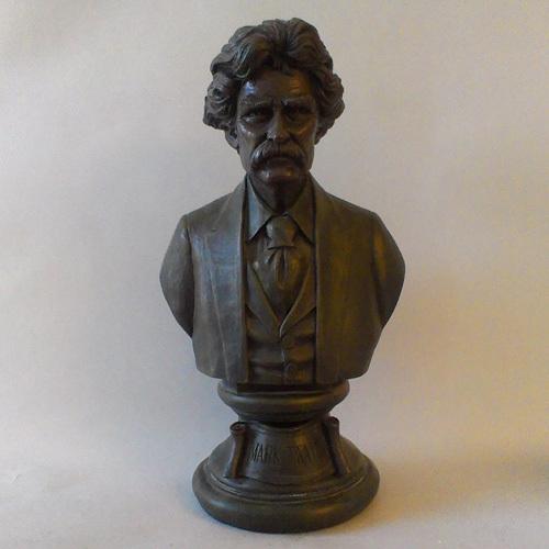 Mark Twain Bust 18  (21 Brz)