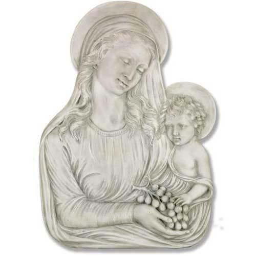 Madonna Eucharist Plaque