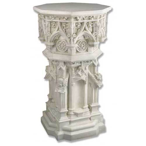 Cathedral Pedestal 44