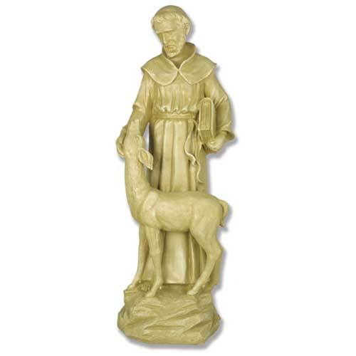 Saint Francis With Deer 20