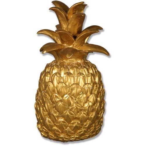 Pineapple decoration 15 elements of home indoor and for Pineapple outdoor decor